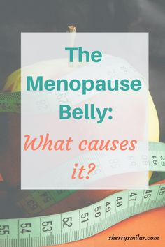 It is common for women to have a thickening of the waist after menopause, but what is the reason for the menopause belly? Menopause Diet, Menopause Symptoms, Estrogen Dominance, Lose Belly Fat, Belly Belly, Homeopathic Medicine, Stress And Anxiety, Anxiety Relief, Feel Tired