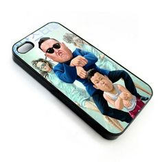 PSY Gangnam style apple iphone 4 4s cover case