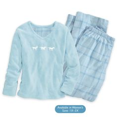 Cozy Horses Loungewear Top and Pants Set - Horse Themed Gifts, Clothing, Jewelry and Accessories all for Horse Lovers | Back In The Saddle
