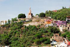 Monumento al #Pipila en #Guanajuato, una visita obligada para cualquier #turista http://www.bestday.com.mx/Guanajuato/Atracciones/