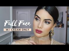 Foundation Routine using Cream ONLY! - YouTube