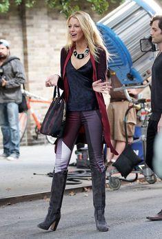 Blake Lively Beaded Dress - Blake Lively Looks - StyleBistro