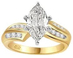 I Really Like yellow gold engagement rings