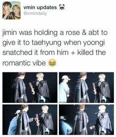 What Yoongi thinks about Jimin giving his love to someone else