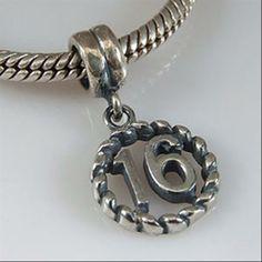 Calvas 925 Sterling Silver Wildflower Openwork Silver Charm Bead Fit European Original Brand Bracelets DIY Jewelry