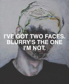 painting lyrics fob goth fade patd Twenty One Pilots Tyler Joseph Josh Dun goner…