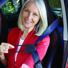 This Seat Belt Extender is great for the car, No more painful twisting to reach that seat belt. #AidsForDailyLiving #carsafety