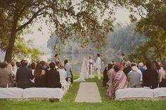 Holy garden matrimony