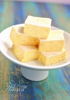 Mango marshmallows.....from scratch!  ☀CQ #desserts #recipes