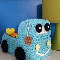 Crochet basket tshirt yarn trapillo 19 new Ideas Crochet Car, Crochet Baby Toys, Crochet Home, Crochet For Kids, Crochet Basket Tutorial, Crochet Basket Pattern, Crochet Patterns Amigurumi, Knitted Blankets, Crochet Projects
