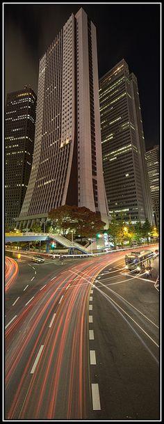 Tokyo - Shinjuku. I stayed right next to this building at the Keio Plaza Hotel.