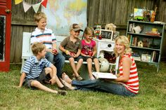 Homeschooling Family Photos