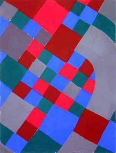 Sonia Delaunay.  The colours in this are so bright and I am not normally drawn to bright things but I love this.