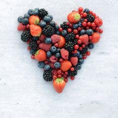 Wij houden van zachfruit! Aardbeien, blauwe bessen, rode bessen, frambozen en bramen