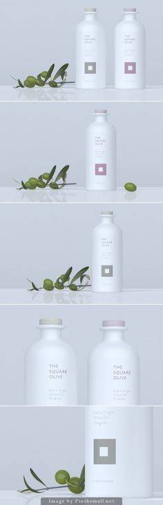 Unique Packaging Design on the Internet, The Square Olive #packaging #packagingdesign #design