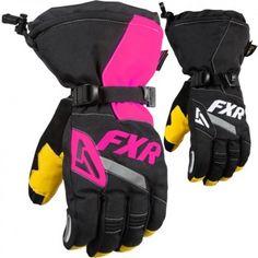 FXR Racing CX Womens Snowboard Skiing Snowmobile Gloves