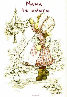Sarah Kay Ilustraciones Día de la Madre Sarah Key, Holly Hobbie, Creative Pictures, Colorful Pictures, Mary May, Embroidery Letters, Australian Artists, Illustrations, Cute Images