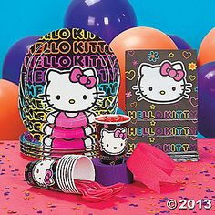 Hello Kitty is a great theme for your teen's day!