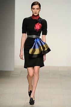 Love the pop of colors! David Koma AW12 #LFW
