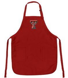 Texas Tech Apron OFFICIAL TTU TOP RATED FULL SIZE Adjustable Neck with Pockets -- For more information, visit image link.