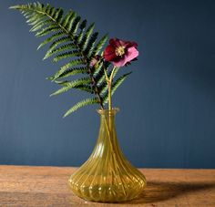 yellow living room ideas, recycled ribbed vase