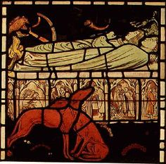 Tristan stained glass images