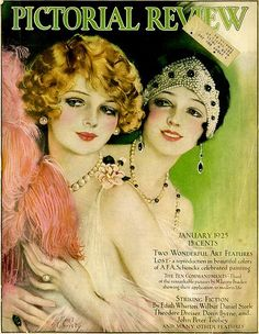 Pictorial Review. Flappers
