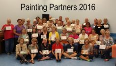 Mondays watercolor & acrylic painting activity group 2016! www.pcbsc.com