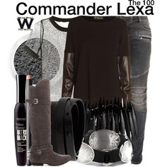 Inspired by Alycia Debnam Carey as Commander Lexa on The 100
