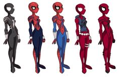 After my pic of Mayday in Spectacular spiderman style [link] I decided to draw some alternate Spidergirl costumes in the same style - gotta love the Ben. Spiderman Girl, Avengers Girl, Marvel Heroines, Marvel Characters, Spider Art, Spider Verse, Desenhos Cartoon Network, Scarlet Spider, Superhero Design