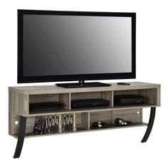 Altra Asher Wood Wall Mounted TV Stand