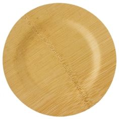 9' Bamboo plates ; 100 for $79.95. Disposable, eco-green, perfect for an outdoor wedding with a woodsy theme