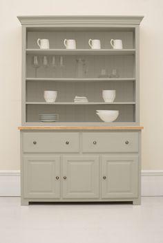 #019 Studio 140cm open dresser two drawer three door