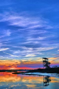 Perdido Key - The three-story observation tower at Big Lagoon State Park. My stomping ground.