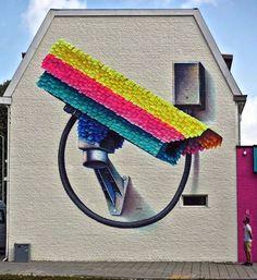 The Heerlen mural by Super-A