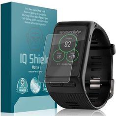 Garmin Vivoactive HR Screen Protector, IQ Shield® Matte (6-Pack) Full Coverage Anti-Glare Screen Protector for Garmin Vivoactive HR Bubble-Free Film - with Lifetime Warranty