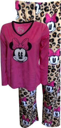 Minnie Mouse Velvety Pajama Set