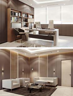 Modern classic CEO office interior - Галерея 3ddd.ru