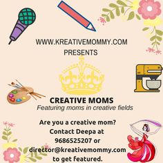 Creative moms are those who create beautiful things and it can be a song, a dance, a piece of art or even a dish. As a big fan of creativity, we want to encourage creative moms. There are a lot... Continue Reading →
