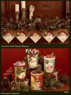 Album Archive - Art to Heart - Natal Peppermint and Holly Berries Christmas Runner, Christmas Decorations, Christmas Tree, Holiday Decor, Shabby Fabrics, Holly Berries, Pattern Books, Christmas Projects, All Design