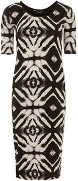 batik tube dress