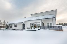 Hartman Koti Säihke Future House, Sweet Home, Villa, House Design, Outdoor Decor, Houses, Home Decor, Homes, Decoration Home