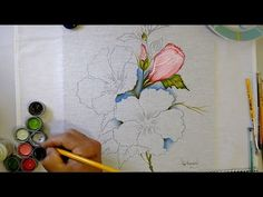 Fabric Painting, The Creator, Youtube, Leaves, Painting On Fabric, Backgrounds, Tejidos, Craft, Tips