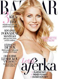 HARPER'S BAZAAR Czech July 2013: Gwyneth Paltrow