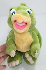 "14"" Vintage DUCKY Plush Toy From The Land Before Time J.C. Penny"