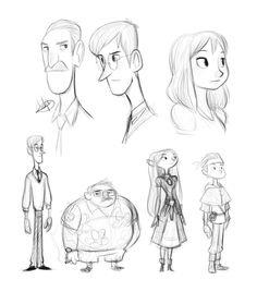 Luigi Lucarelli: Character Artist   Sketches