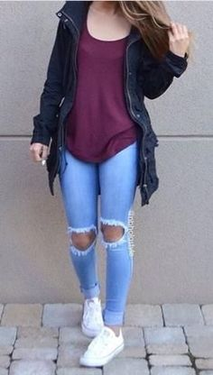 Awesome Casual Fall Outfits It's important to The police officer This Event. Get inspired with these. casual fall outfits for teens Sneakers Fashion Outfits, Fall Fashion Outfits, Mode Outfits, Look Fashion, Teen Fashion, College Fashion, Fashion Ideas, Fashion Clothes, Women's Clothes