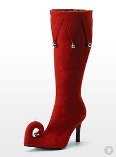 Christmas Elf Boots - maskworld.com