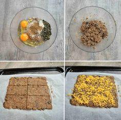Lněné krekry | Rutina.cz Bread, Food, Routine, Brot, Essen, Baking, Meals, Breads, Buns