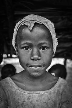 A young girl from Kasernsero, Uganda which was the first place where HIV was detected.
